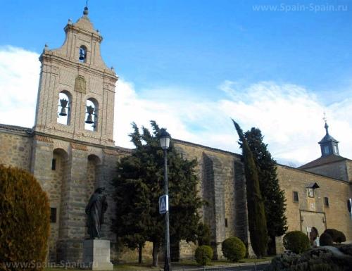 Монастырь Энкарнасьон в Авиле