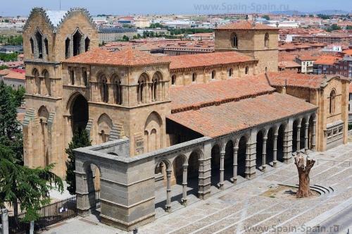 Базилика Сан Висента в Авиле