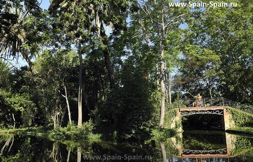 Парк de Can Solei в Бадалоне