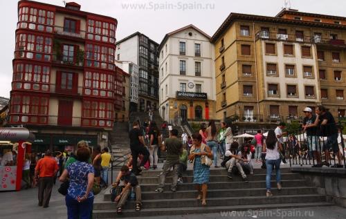 Cтарый город (Каско – Вьехо) в Бильбао