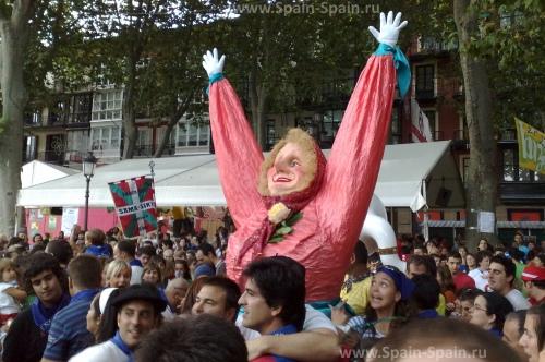 Фестиваль Семана Гранде в Бильбао
