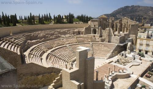Римский театр в Картахене