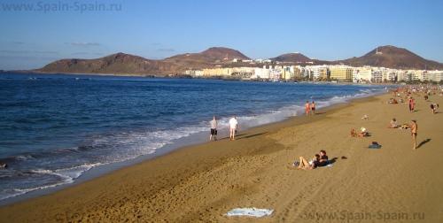 Пляжи Лас-Пальмас-де-Гран-Канарии