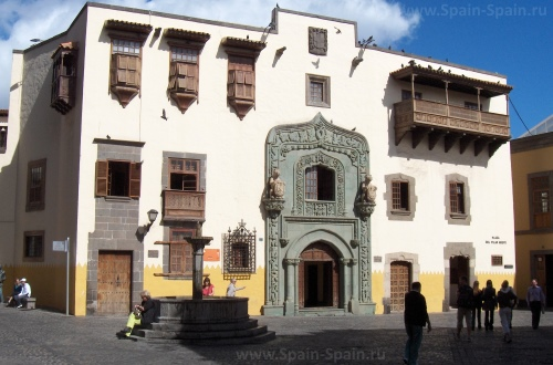 Дом Колумба в Лас-Пальмас-де-Гран-Канарии
