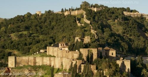Замок Кастильо-де-Хибральфаро в Малаге