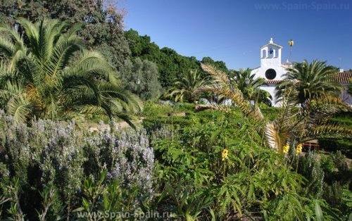 Ботанический сад Ангела в Марбелье