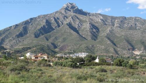 Гора Ракушка в Марбелье