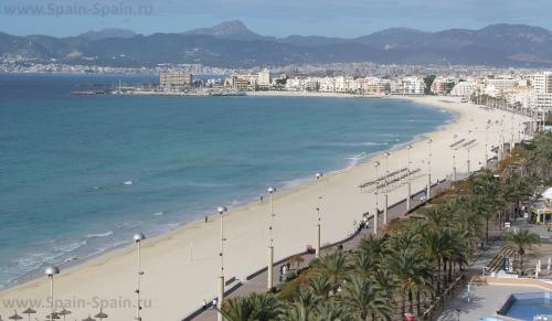 Пляж Platja de Palma