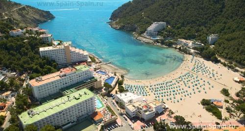 Пляж Cala Estància