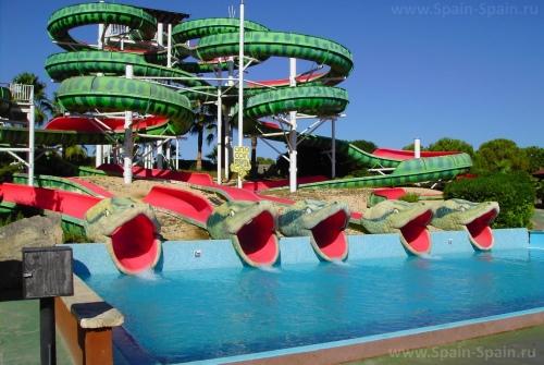 Аквапарк Aqualand в Пальма-де-Майорке