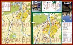 Туристическая карта Жироны