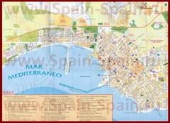 Карта города Торревьеха