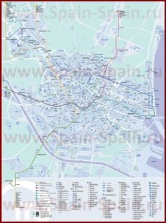 Карта метро Валенсии